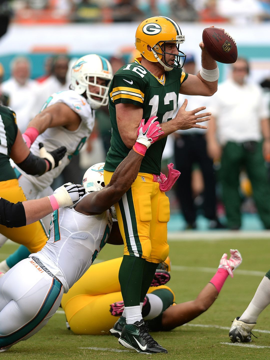 Week 6 Green Bay Packers 27 Miami Dolphins 24 Green Bay Packers Green Bay Packers