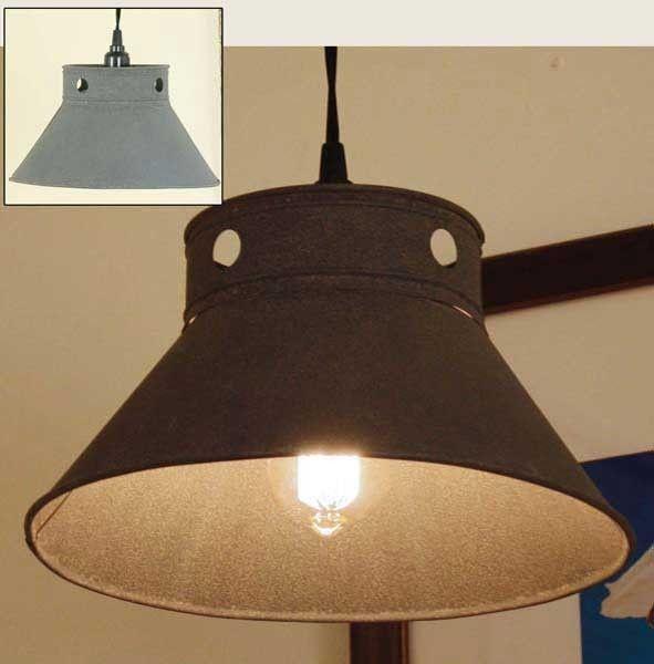 Side Kitchen Pendant Lamp - Barn Roof