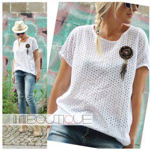 Dolce Wloska Bluzka Haftowany Przod Boho Broszka 6237973546 Oficjalne Archiwum Allegro Fashion Tops