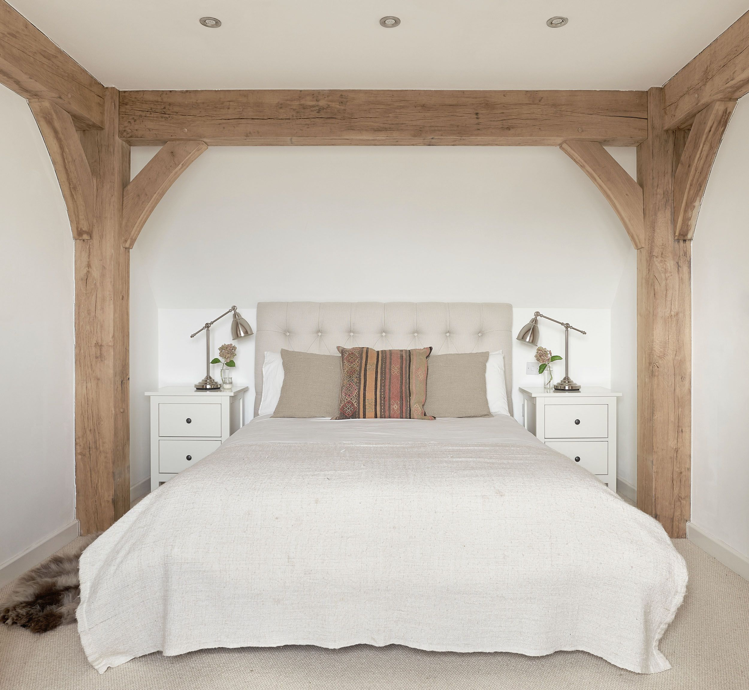 Best Border Oak Bedroom Simple Frame Bed 5 Dormitorios 400 x 300