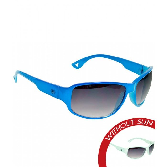 3725d995a3b3 Solize Sunglasses that Change Color with Sun - California Girls - Light Blue  to Blue -