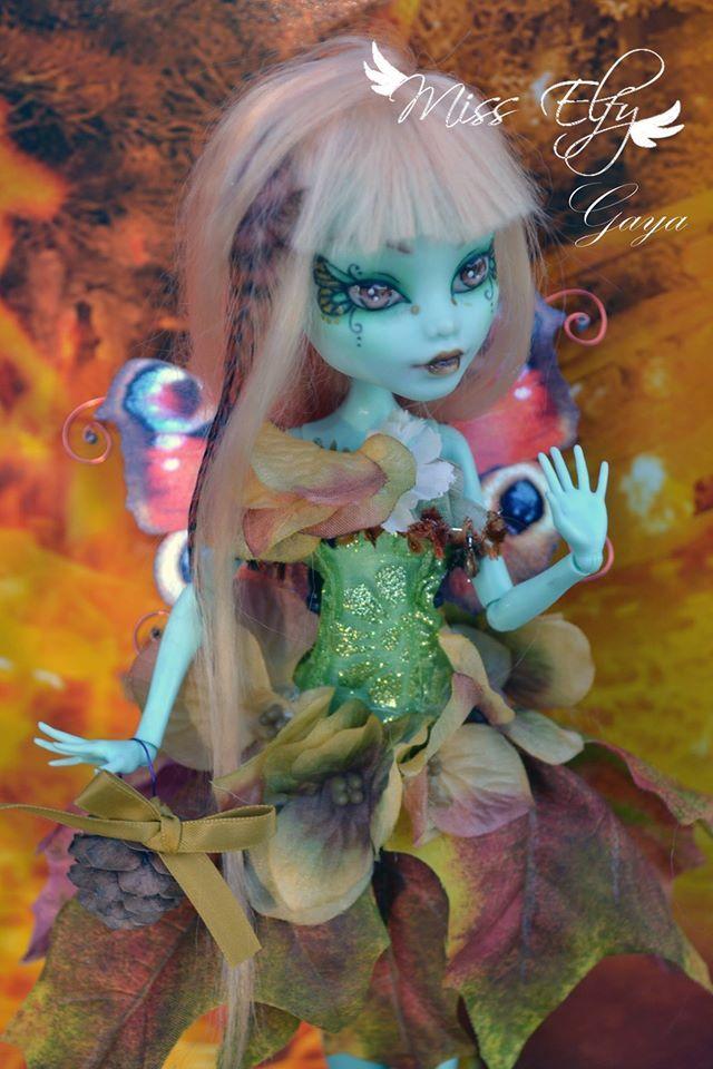 OOAK Gaya monster high by MissElfy