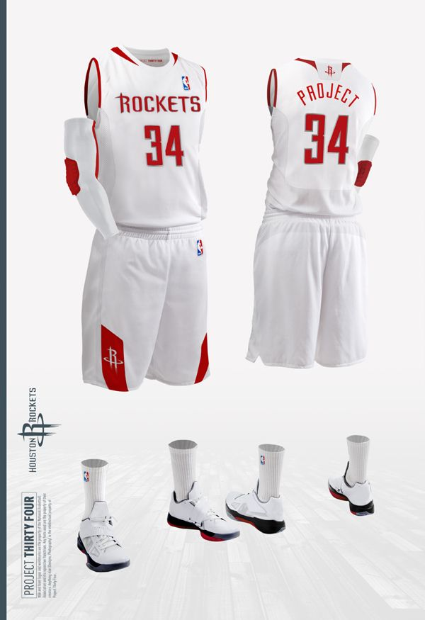 competitive price 29827 e70c9 Houston Rockets Jersey Concept | Creative Inspiration | Nets ...
