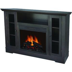 Quality Craft Electric Fireplace Media Unit Espresso 449 Walmart