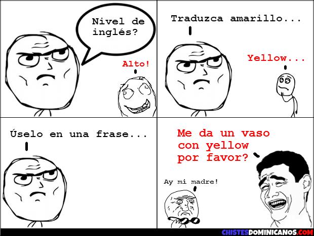 Memes En Ingles Cursos De Ingles Gratis Chiste Grafico Conversaciones En Ingles