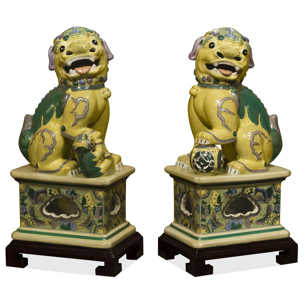 Always Standing In Pairs Foo Dogs Are Fantasy Lions In Chinese