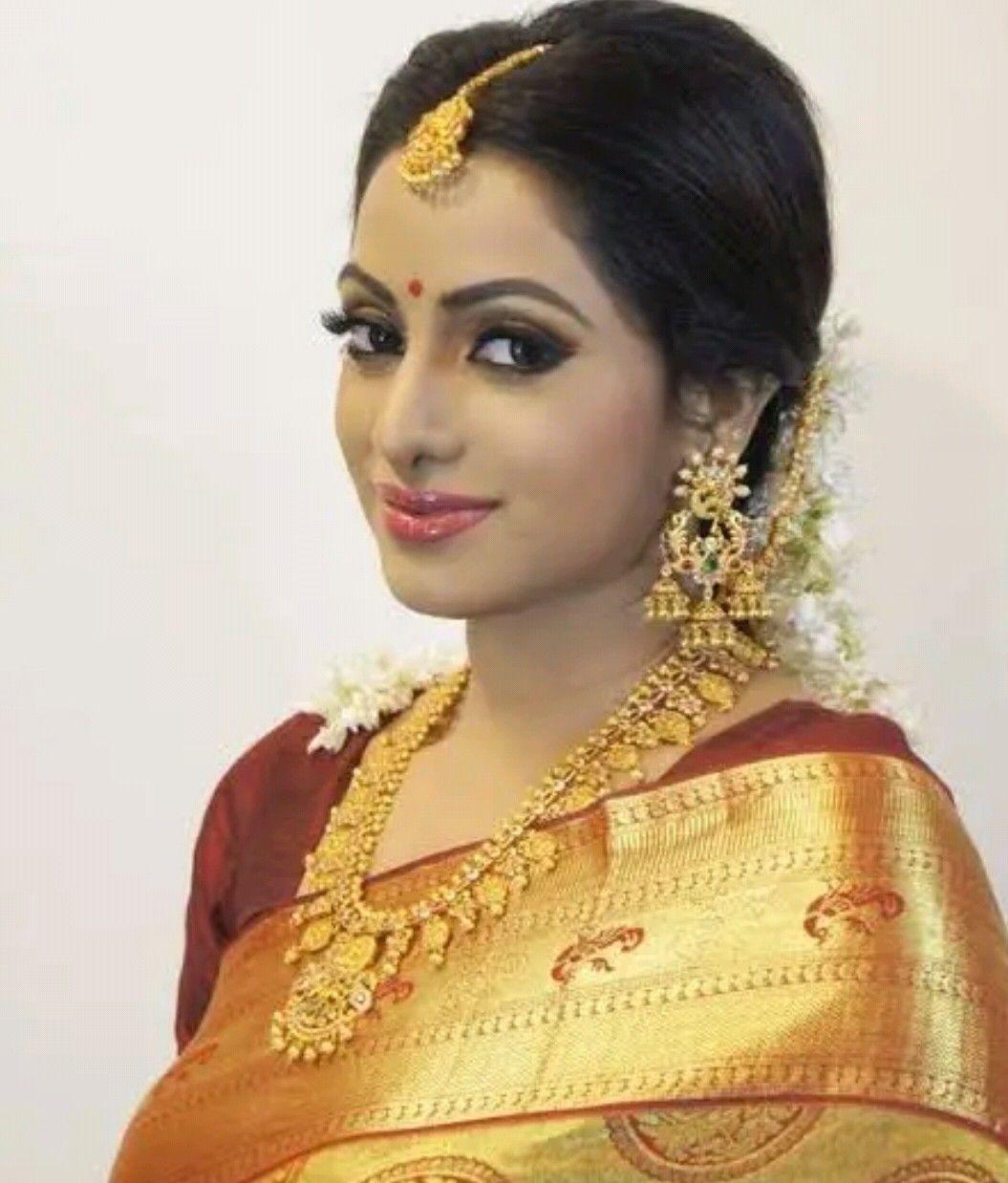 Pin by ALN Desikar on Brides   Bridal silk saree, Hindu