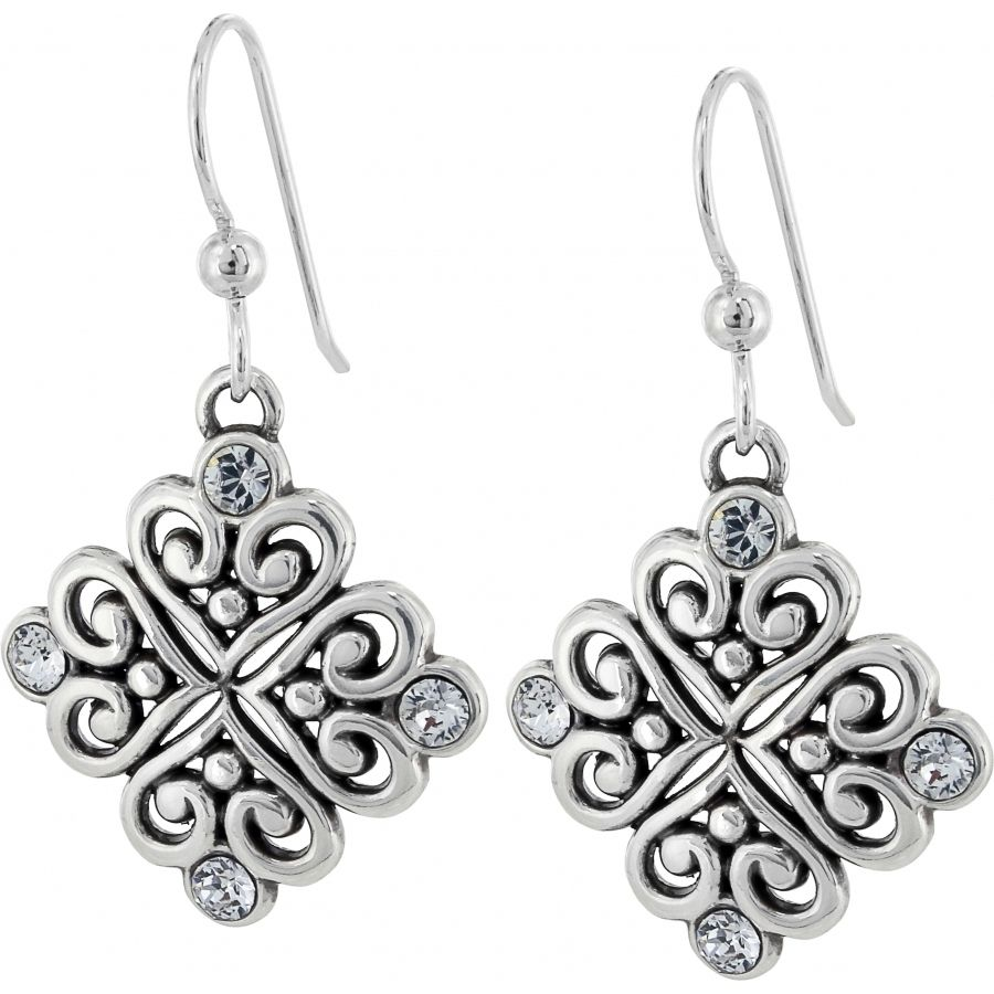 Brighton Alcazar Love Earrings. To purchase call NCH