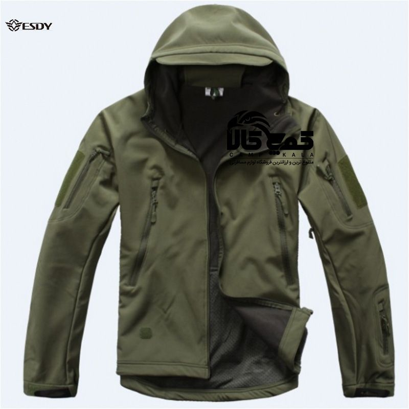 کاپشن وینداستاپر 5 11 با خرید کاپشن وینداستاپر 5 11 از کمپ کالا مشتری دائم ما خواهید شد کمپ کالا بهترین فروش Tactical Jacket Army Bomber Jacket Hunting Clothes