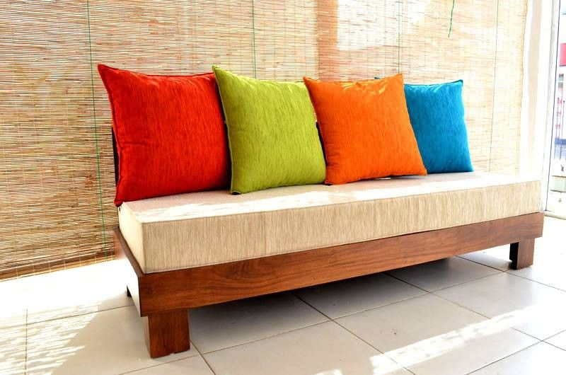 Sofa Pillows Beautiful Wooden Couch Galleries
