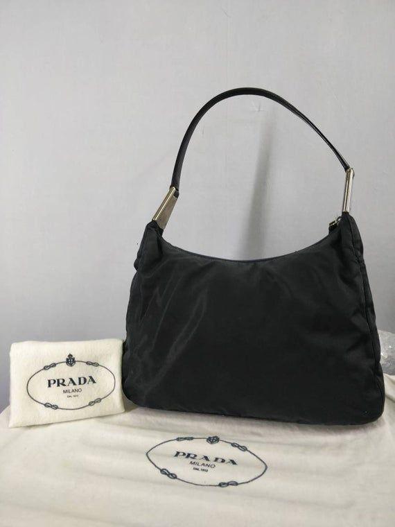 Photo of Prada Handbag tote bag shoulder bag authentic #916