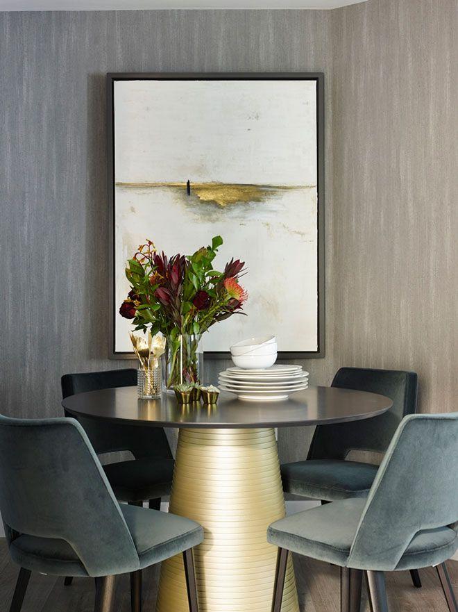 Стильная квартира в Лондоне от Love Interiors   Элегантный интерьер небольшой квартиры
