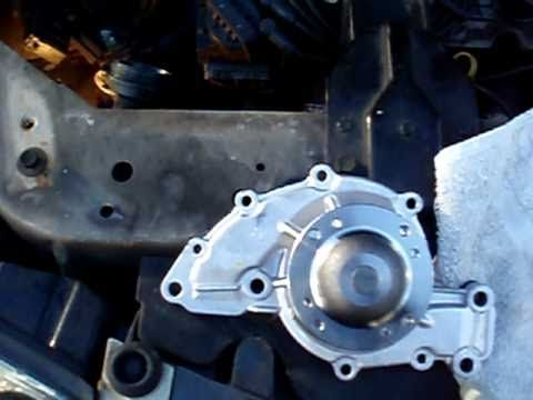 How To Change Water Pump In A Car Chevy 2004 Yr Impala 3800 3 8l Series Ii Engine The How To Car Water Pump Impala Water Pumps