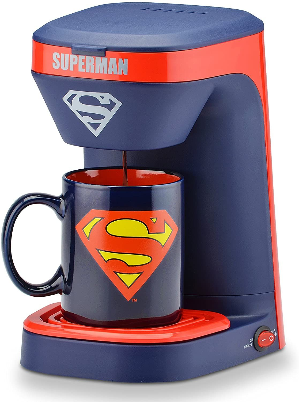 Superman Coffee Maker with Mug in 2020 1 cup coffee