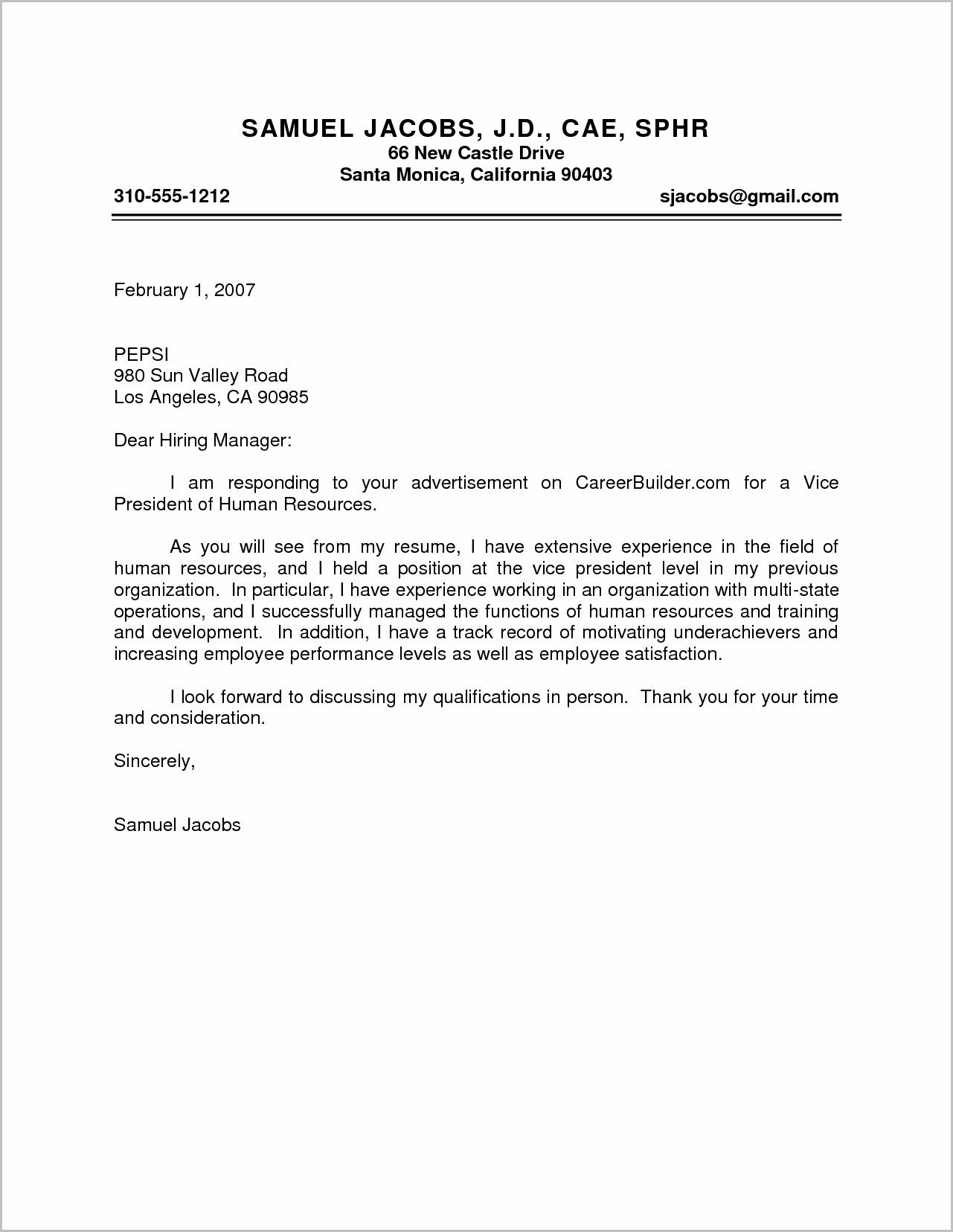 23 Human Resources Cover Letter Writing A Term Paper Writing A
