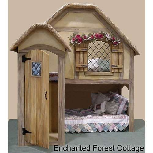 Little girl's room Fairy Tale Bed from PoshTots