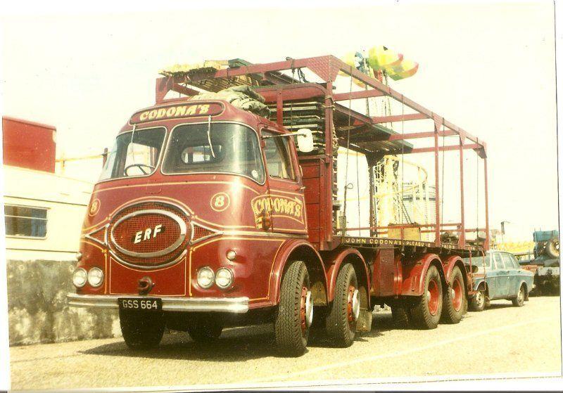ERF KV Codona's Truck transport, Commercial vehicle