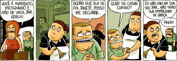 Will Tirando - Jair Avarento