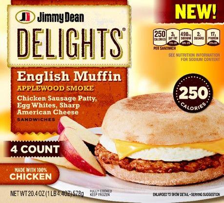 Jimmy Dean Delights Honey Wheat Flatbread Turkey Sausage Egg