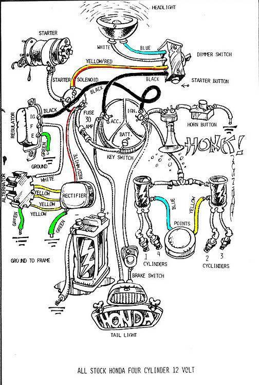Pastorike S Image Motorcycle Wiring Honda Cb750 Honda Bobber