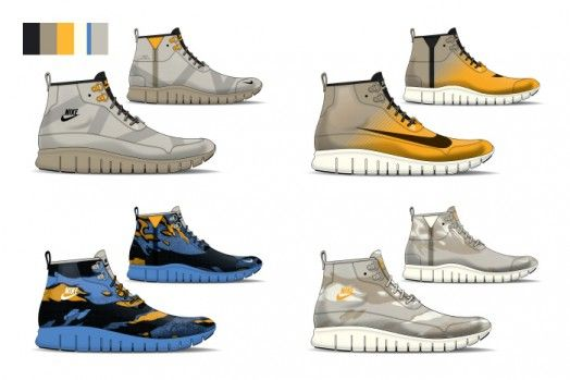 21ccd894eec Nike Sportswear Free Chukka Boot Concept by David Whetstone | Shoe ...