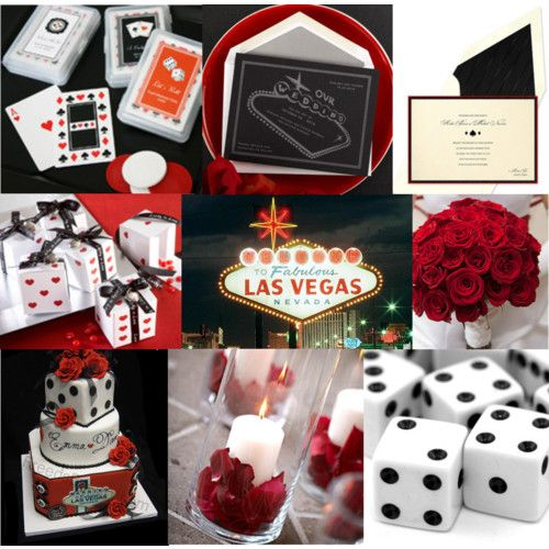 Las vegas wedding theme favors and decoration ideas im for Las vegas themed weddings