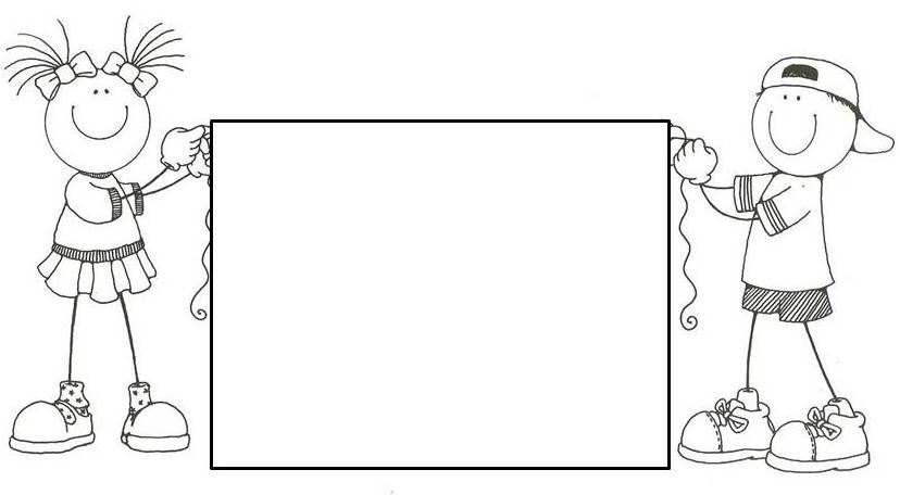 Resultado de imagen para bordes de pagina escolares para colorear ...