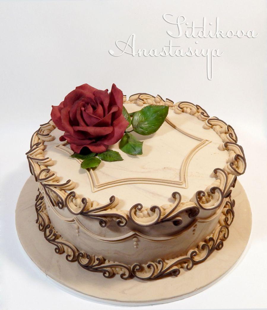 Royal Icing Scrolls Royal Icing Cakes Cake Decorating Cake