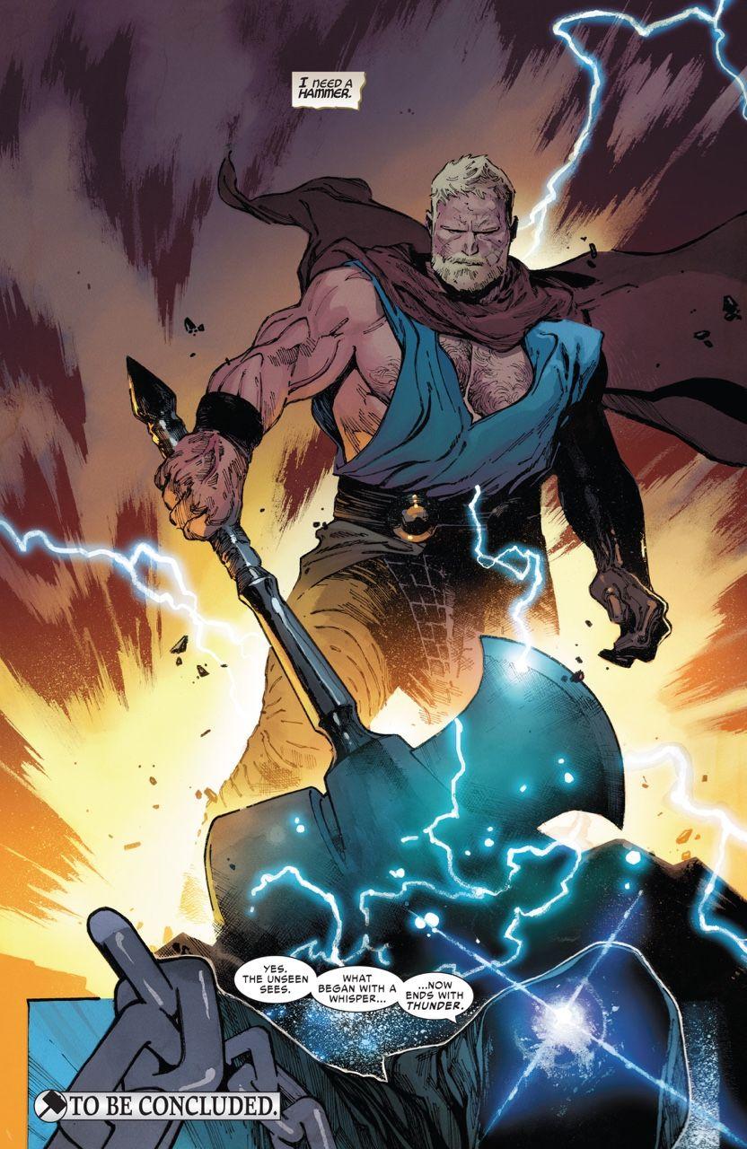 Unworthy Thor #4 'member Dis Marvel Comics