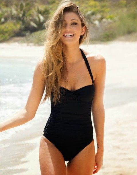 fdc74acce12 swimwear classy one-piece swimsuit swimsuit | must have | Swimwear ...