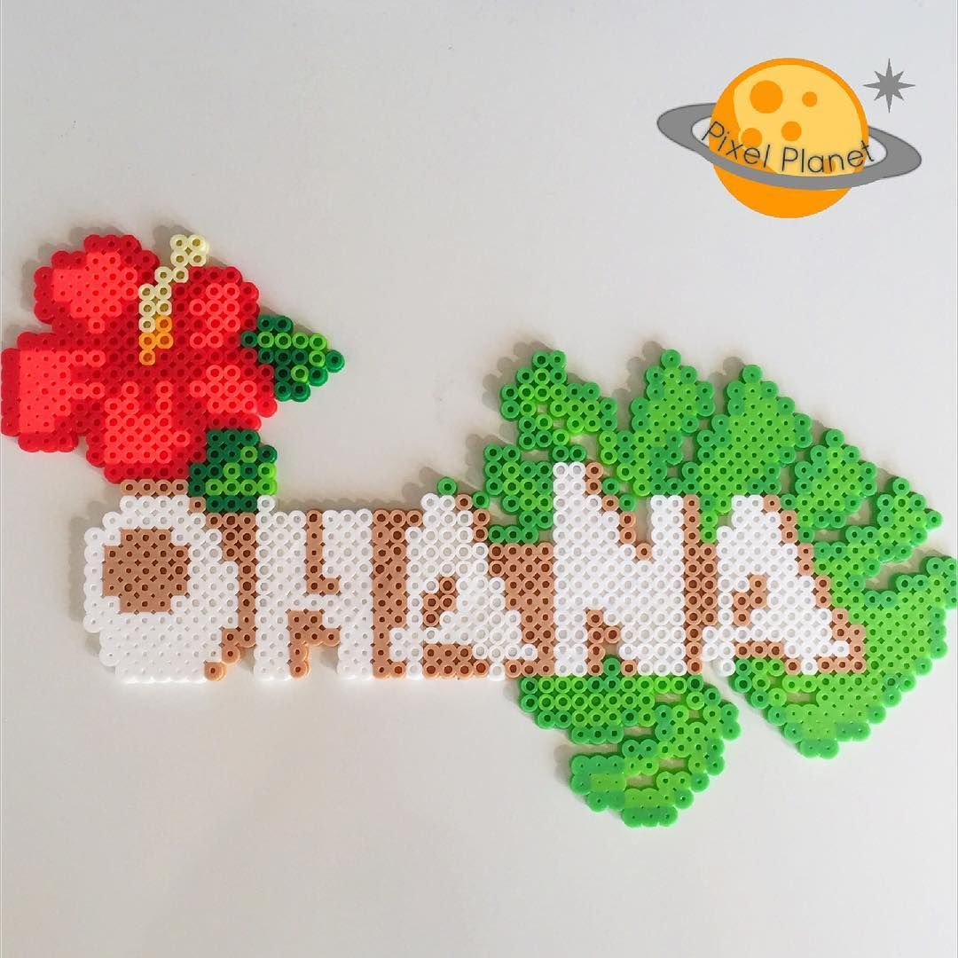 ohana perler beads by pixel planet b gelperlen b gelperlen steckperlen und hama. Black Bedroom Furniture Sets. Home Design Ideas