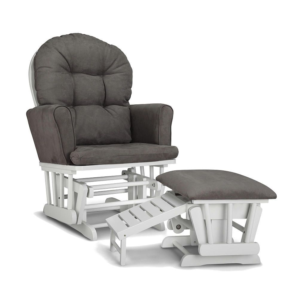 Graco parker semiupholstered glider and nursing ottoman