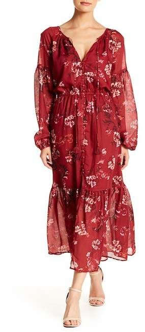 6b86e6f093b The Jetset Diaries TJD Autumn Floral Maxi Dress