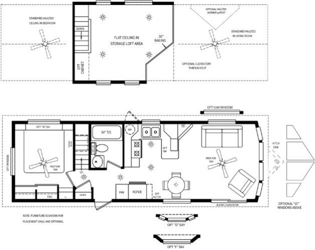 3 genius park model tiny home floor plan ideas