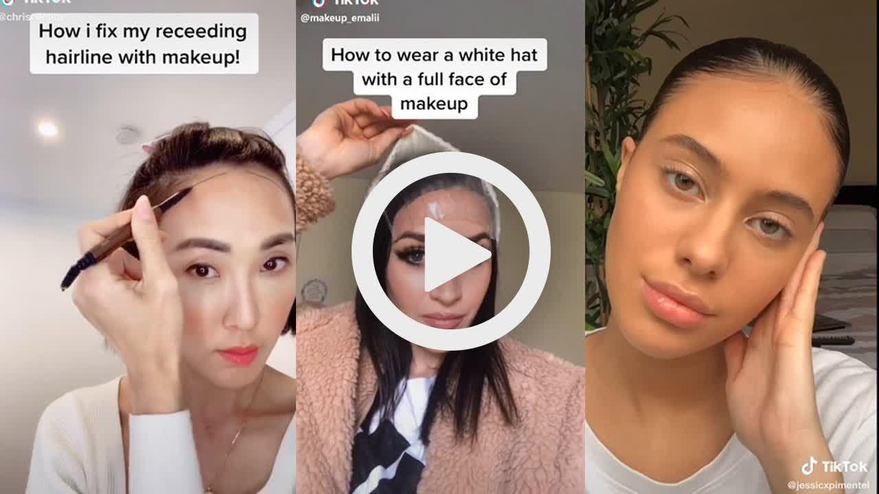 Beauty Hacks Tiktok Compilation From Makeup Hacks To Skincare Hacks Tiktok Mix Compilation Makeup Tips Full Face Makeup Makeup