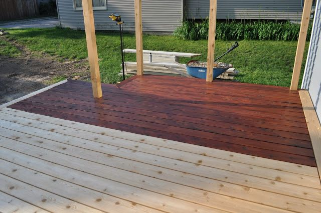 Exterior Update Staining Deck Front Porch Makeover House Exterior
