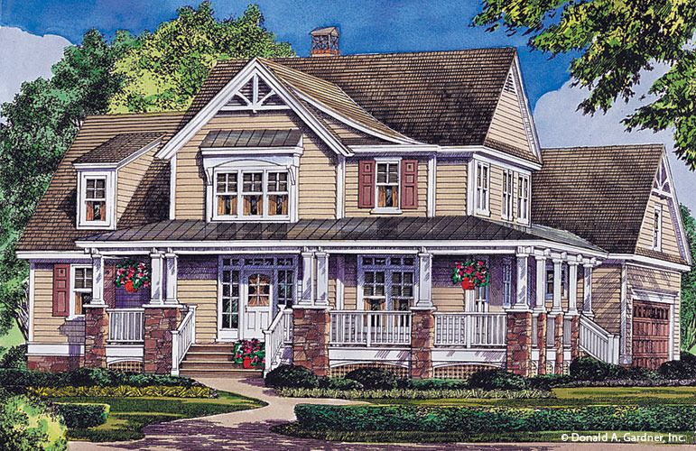 Renderings The Trotterville House Plan #984 | Craftsman home ideas ...