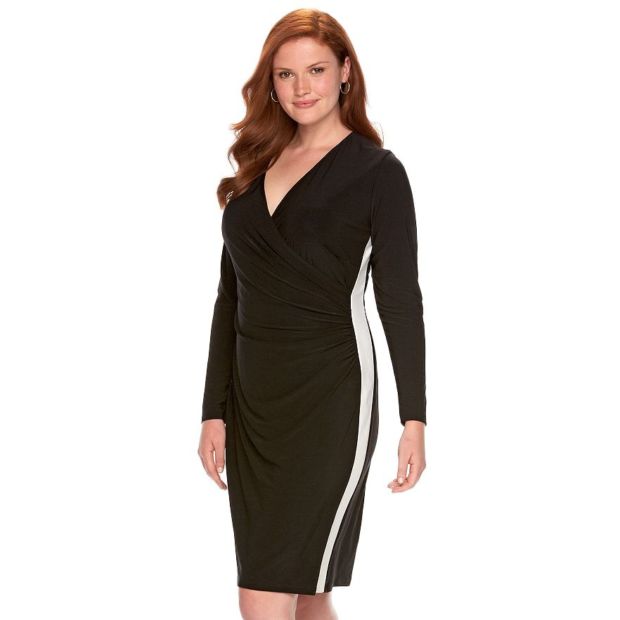 Ralph Lauren Ruched Sheath Dress