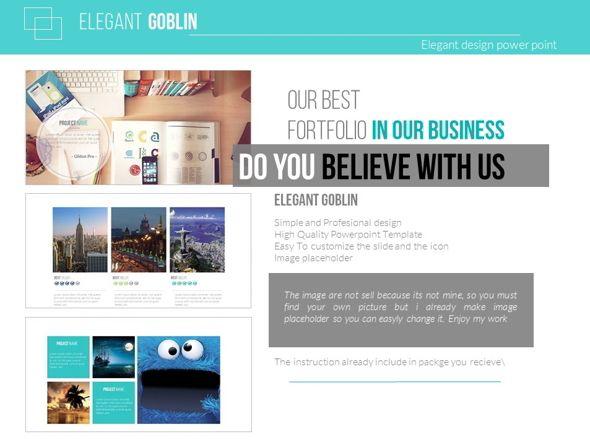 Elegant Goblin  Business Powerpoint Templates Powerpoint
