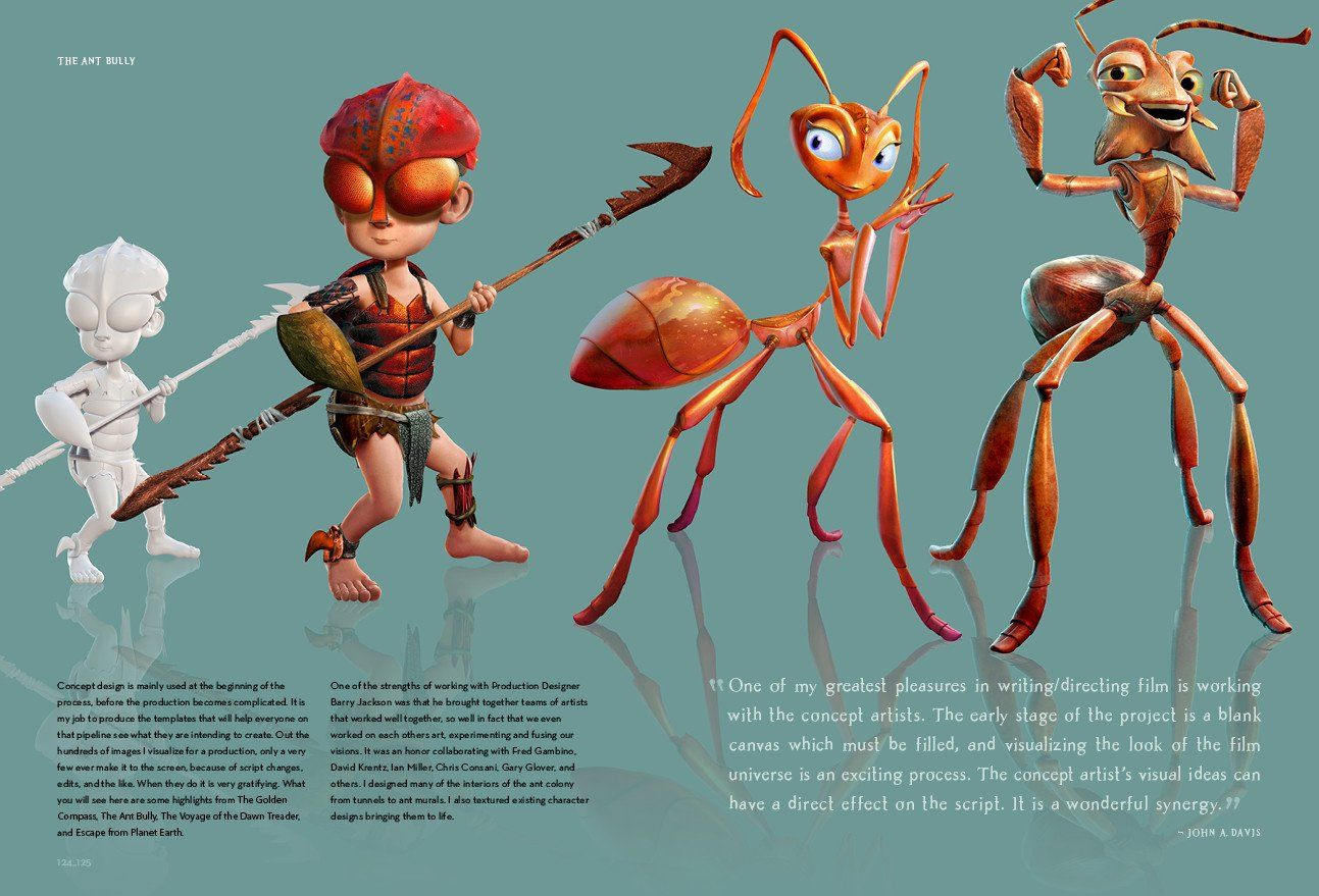 Image Result For Ant Bully Concept Art