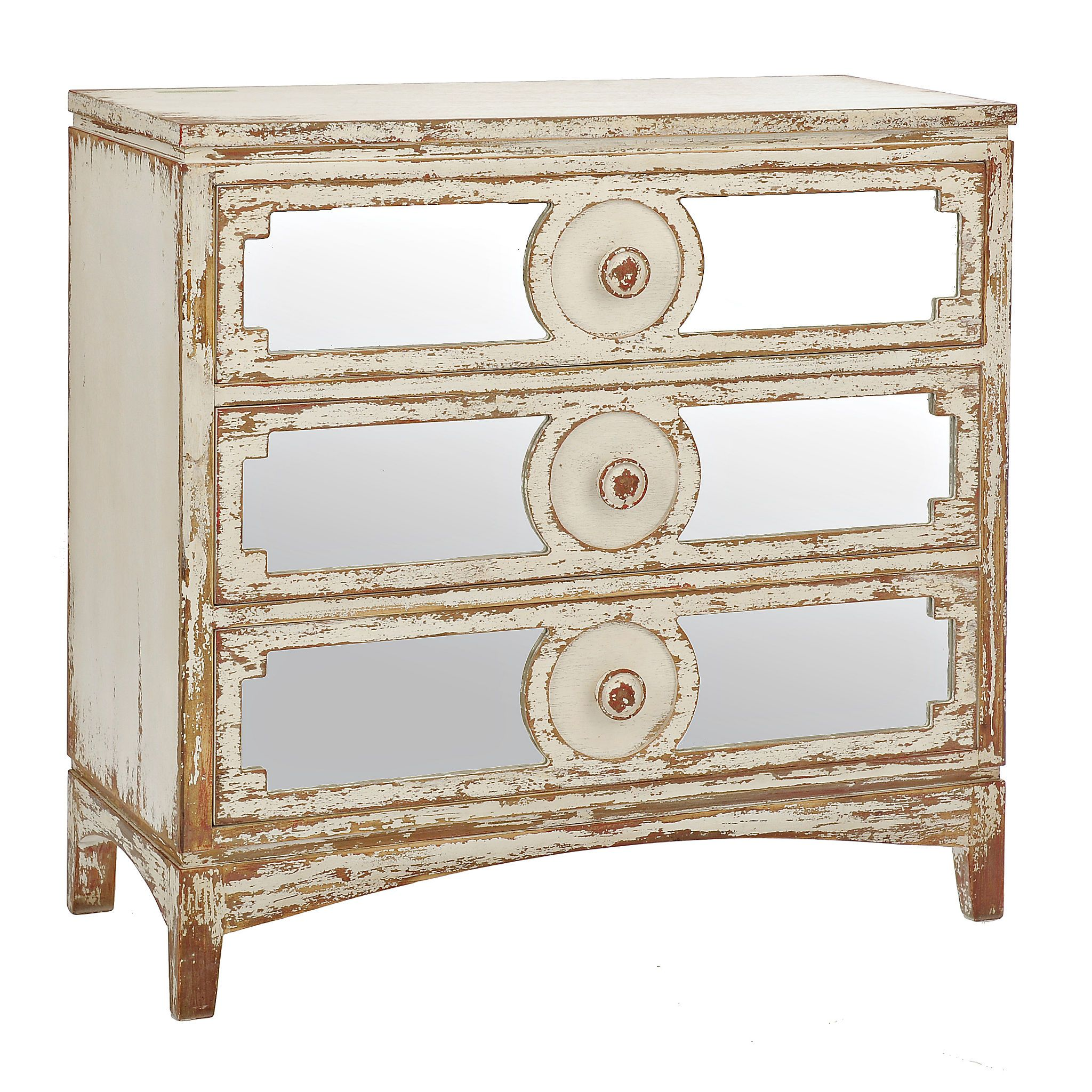 distressed mirrored furniture. Distressed Abbey Mirrored Chest Furniture K