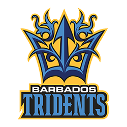 Team logo from the Barbados Tridents | CPLT20 com - Caribbean