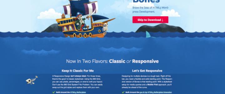 10 Temas em Branco para o Wordpress