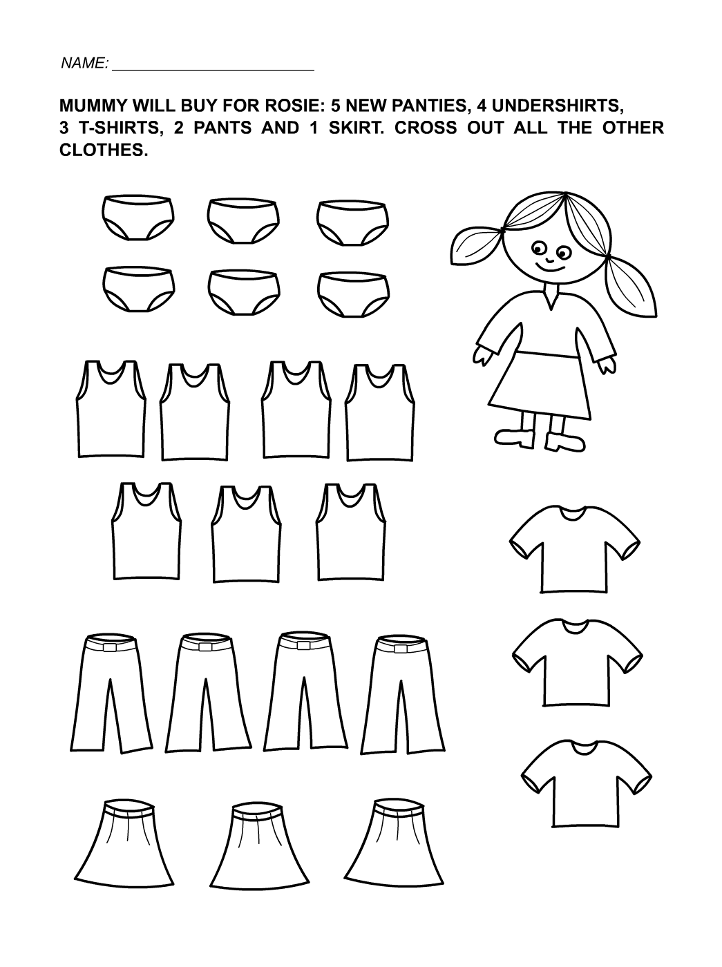Free Printables for Toddlers Girls | Learning Printable | Kids