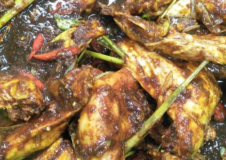 Resep Opor Ayam Kampung Betawi Sederhana Resep Masakan Indonesia Masakan Ayam