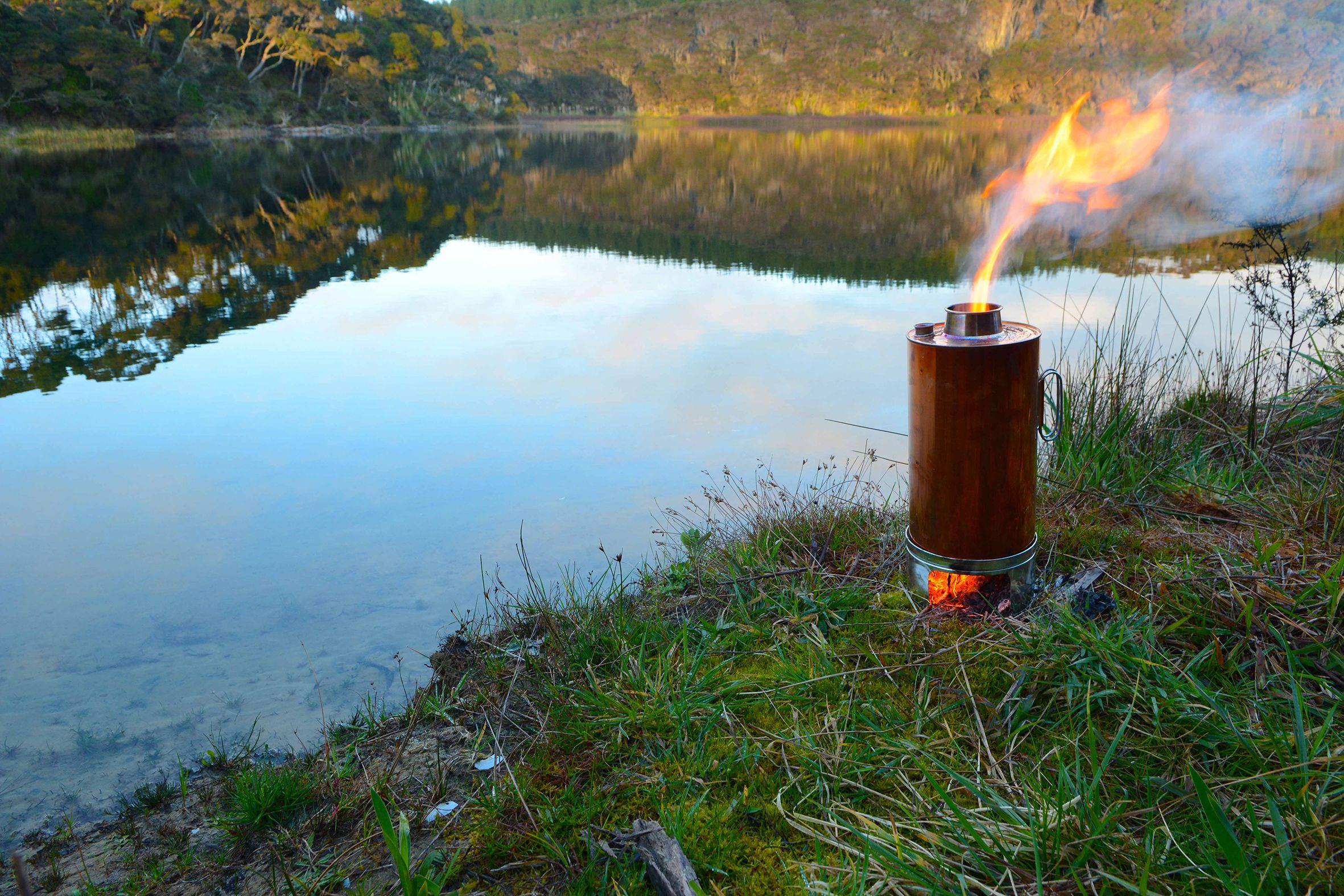 Made in New Zealand from copper, the Thermette is not only