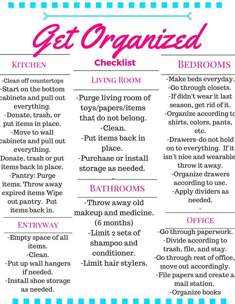 The Best of Organizing   Mess to Blessed   House cleaning ...