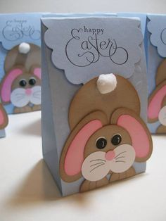 Addicted to cardmaking easter treat bags boxes and treats addicted to cardmaking easter treat bags negle Image collections