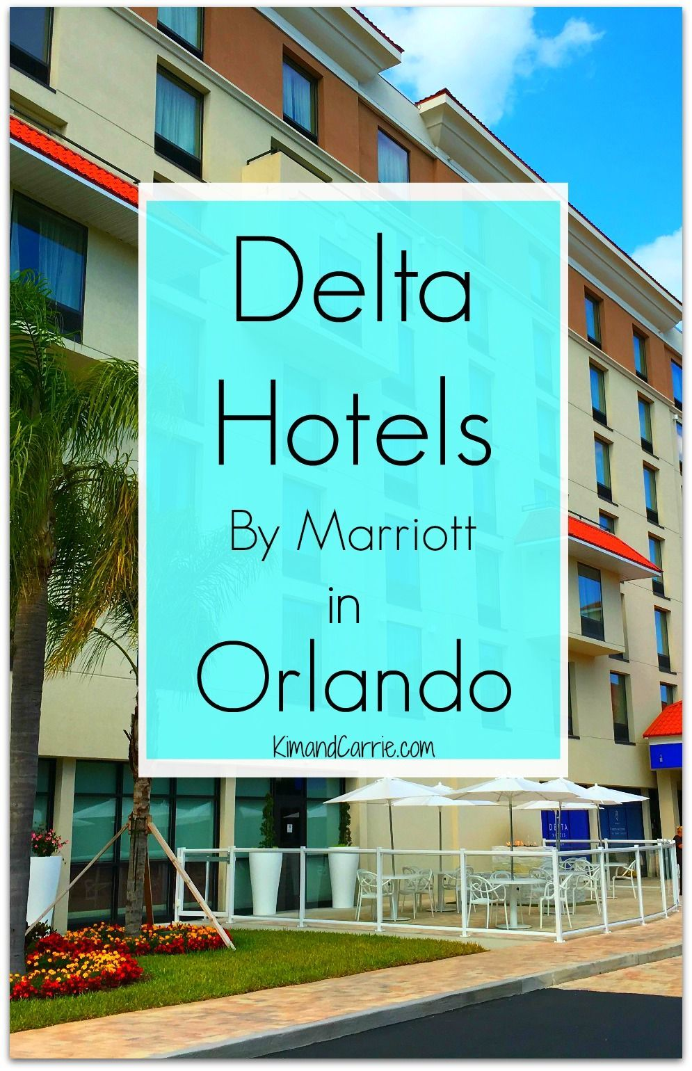 Hotels Opens in Orlando - First Outside of Canada Beloved Canadian brand Delta Hotels opened its first location in the U.S. in Orlando, Florida. Located just outside of Disney Springs, this Marriott hotel is conveniently located to Walt Disney World Resort and central Florida theme parks.Beloved Canadian brand Delta Hotels ...
