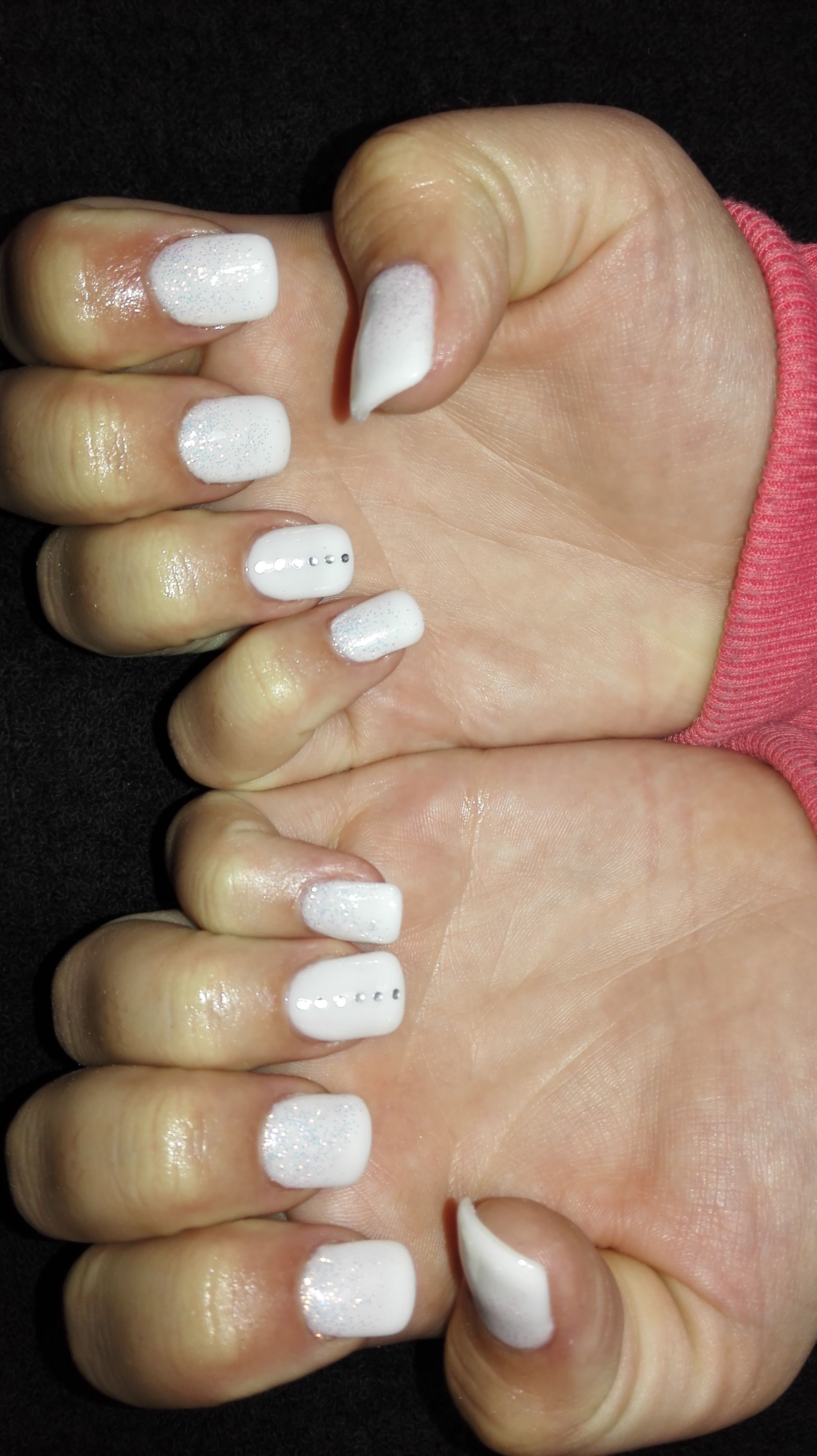 Testa Rossa Beauty East Rand Nail Technician Johannesburg Technician Mobile Technician Manicure Easy Nail Art Easy Manicure Pastel Blue Nails Funky Nails